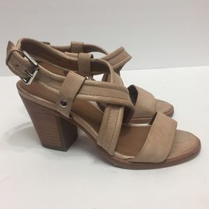 Frye Leather Ankle Sandals. Size 6.5